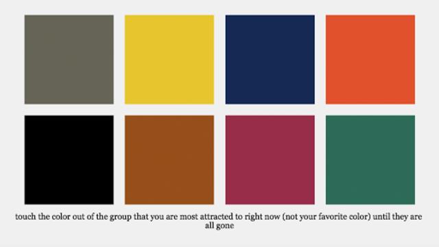 Color Flower Essence Test screenshot 1