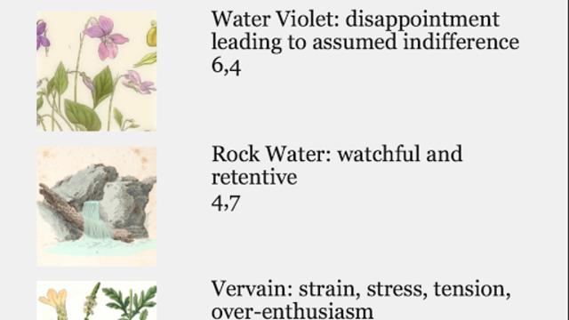 Color Flower Essence Test screenshot 3