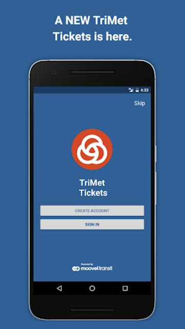 TriMet Tickets screenshot 1