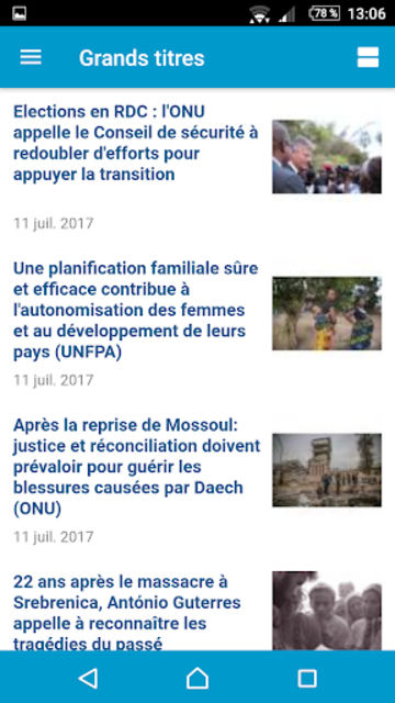 UN News Reader screenshot 6