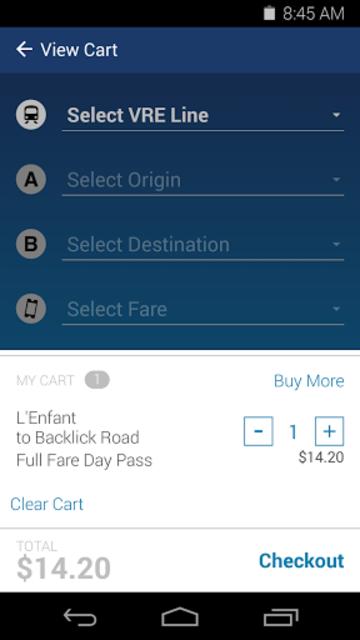 VRE Mobile screenshot 4