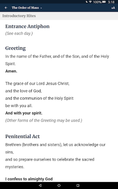 The Word Among Us – Daily Mass Readings & Prayer screenshot 16