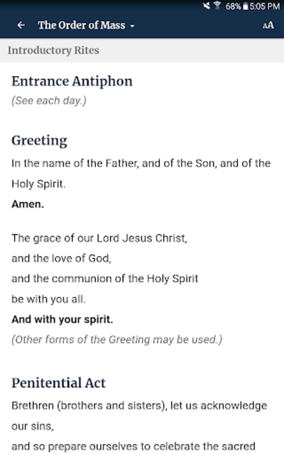 The Word Among Us – Daily Mass Readings & Prayer screenshot 24
