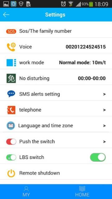 SeTracker screenshot 3