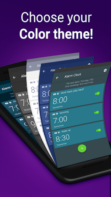 Alarm Clock with Ringtones & Math Problems screenshot 17