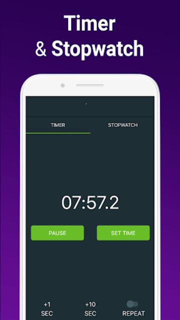 Alarm Clock with Ringtones & Math Problems screenshot 18