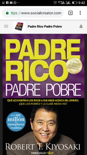 Leer Padre Rico, Padre Pobre screenshot 2