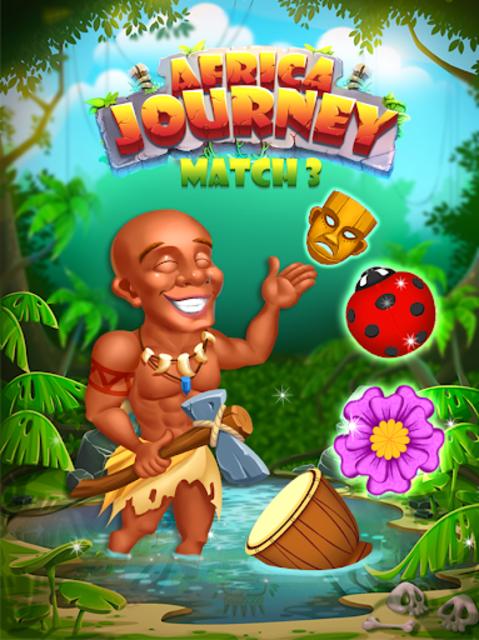 Africa Journey Match 3 screenshot 2