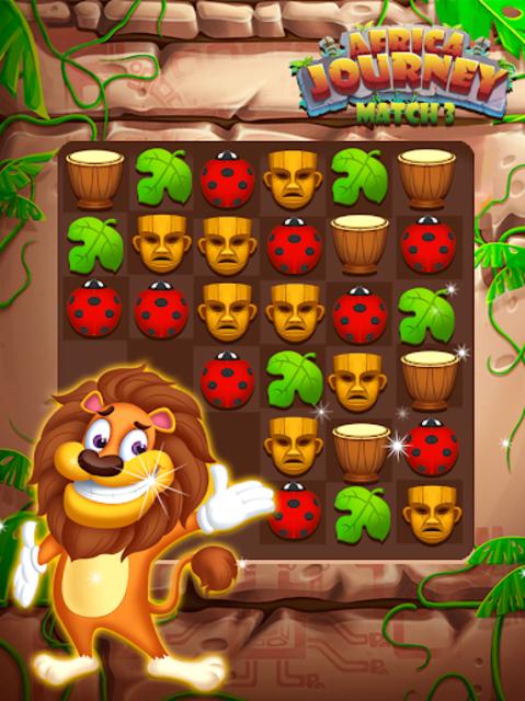 Africa Journey Match 3 screenshot 3