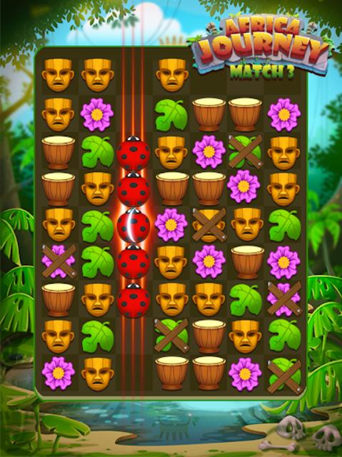 Africa Journey Match 3 screenshot 8