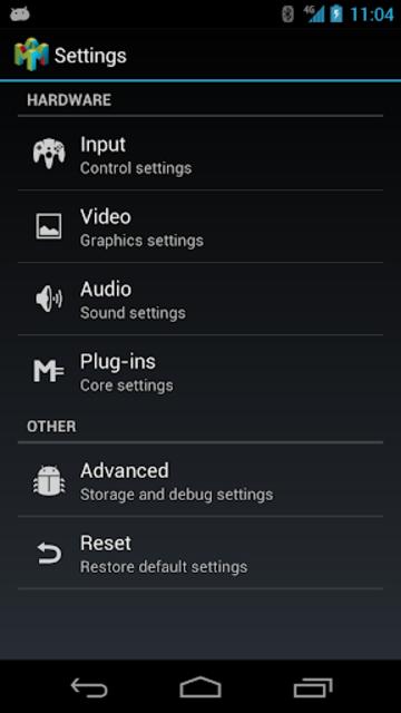 Mupen64Plus AE (N64 Emulator) screenshot 2