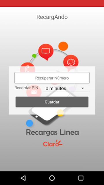 RecargAndo screenshot 1