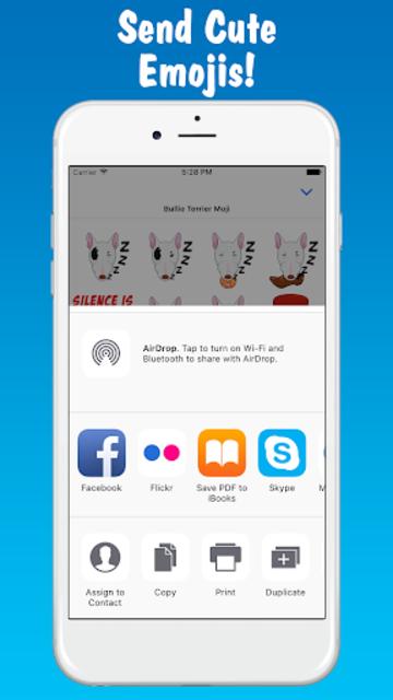 MyBTMoji - Bull Terrier Emoji Keyboard
