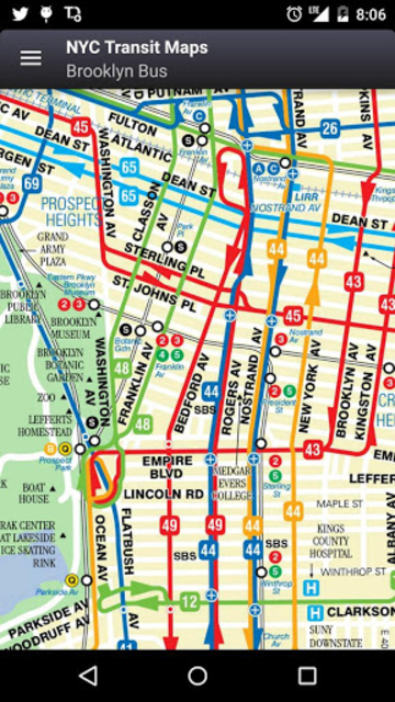 NYC Subway, Bus & Rail Maps (MTA) screenshot 8