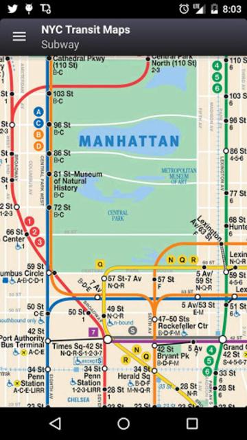 NYC Subway, Bus & Rail Maps (MTA) screenshot 9