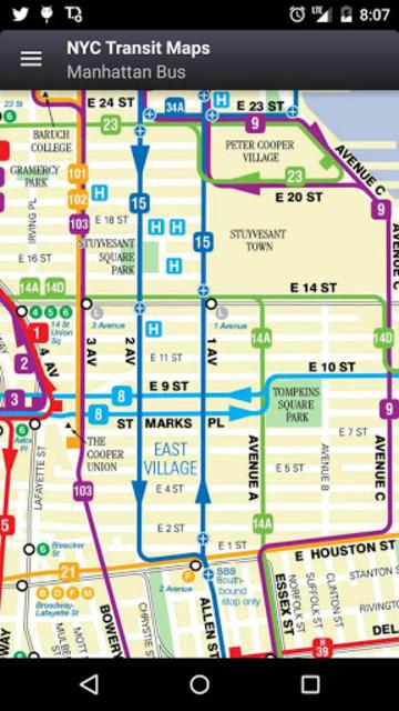 NYC Subway, Bus & Rail Maps (MTA) screenshot 12