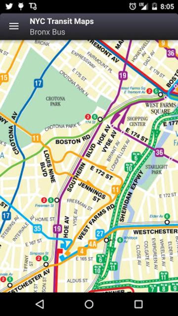 NYC Subway, Bus & Rail Maps (MTA) screenshot 14