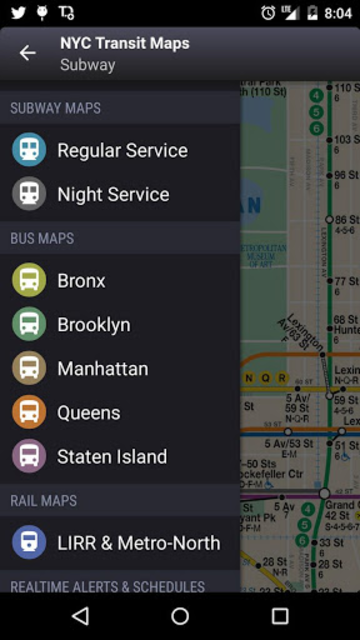 NYC Subway, Bus & Rail Maps (MTA) screenshot 18