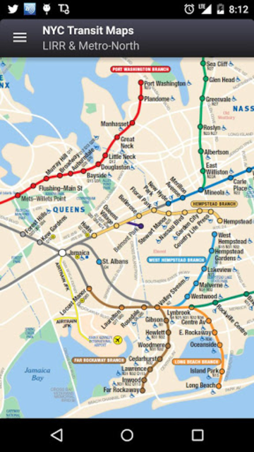 NYC Subway, Bus & Rail Maps (MTA) screenshot 21