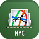 Icon for NYC Subway, Bus & Rail Maps (MTA)