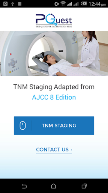 TNM Cancer Staging(8th edition) screenshot 2