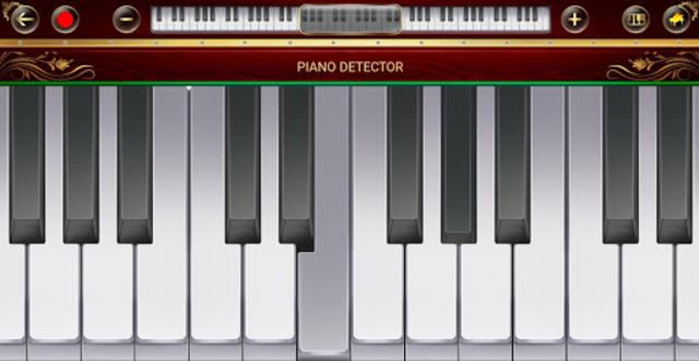 Piano Detector screenshot 2
