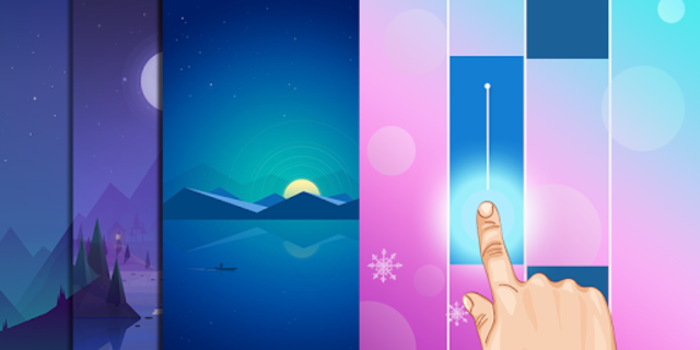 Colorful Piano Magic Tiles Kpop screenshot 1