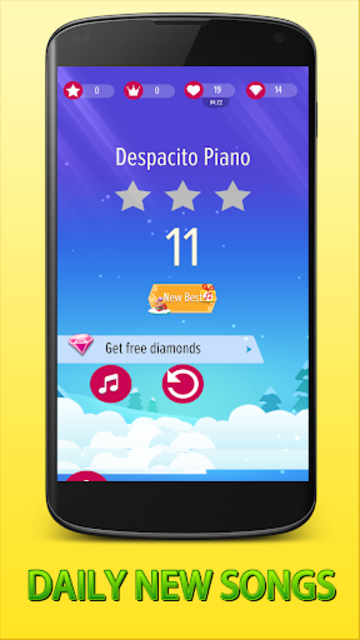 2019 Tiles Piano Game - Despacito Tiles Piano tile screenshot 2