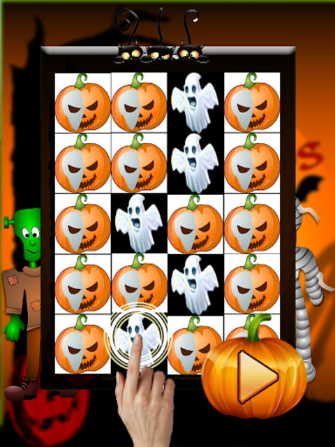 Piano Tiles Halloween screenshot 1
