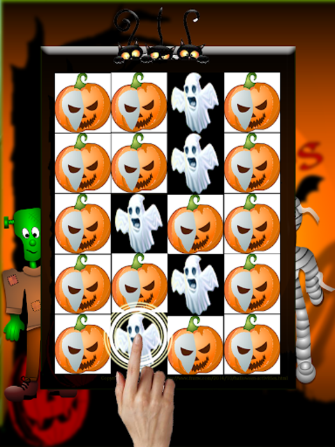 Piano Tiles Halloween screenshot 3