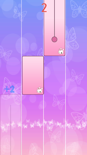 Flower Pink Piano Tiles - Magic Butterfly Tiles screenshot 5