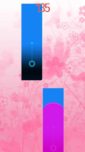 Pink Piano Tiles 5 - 2019 screenshot 4