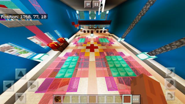 Pink World Minecraft Game for Girls screenshot 1