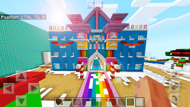 Pink World Minecraft Game for Girls screenshot 4