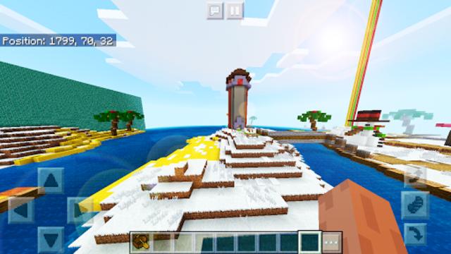Pink World Minecraft Game for Girls screenshot 5