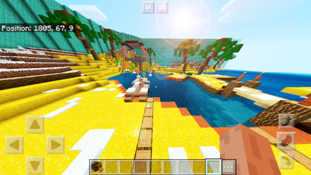 Pink World Minecraft Game for Girls screenshot 6