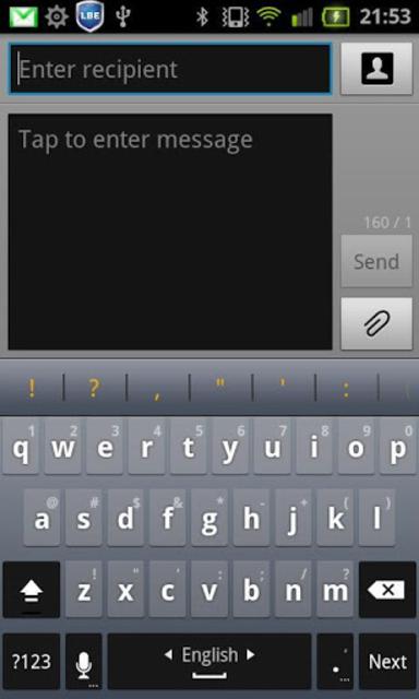 Spanish  for Perfect keyboard screenshot 2