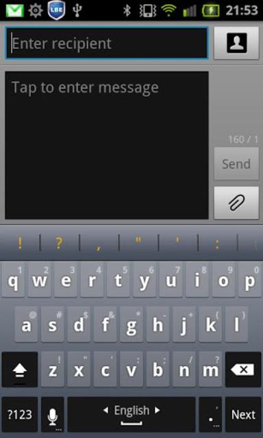 Hebrew for Perfect keyboard screenshot 2
