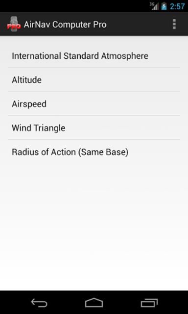 AirNav Computer Pro screenshot 1