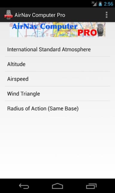 AirNav Computer Pro screenshot 2