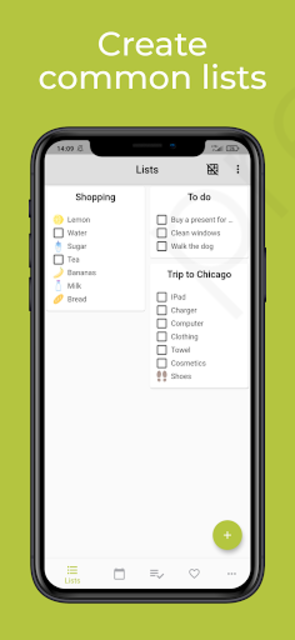 Home Organizer - family organizer and calendar screenshot 2