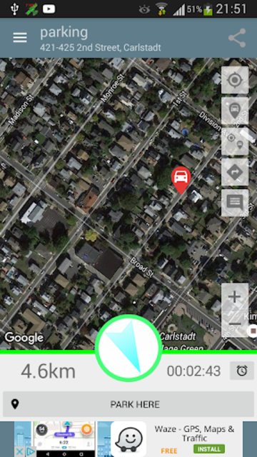 Parked Car Locator screenshot 4