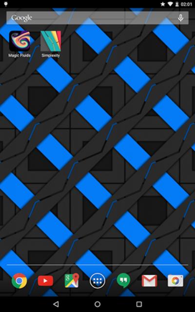 Simplexity Free: Material Design Live Wallpaper screenshot 4