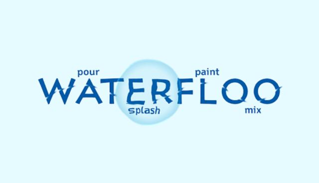Waterfloo Free - liquid simulation & wallpaper screenshot 1