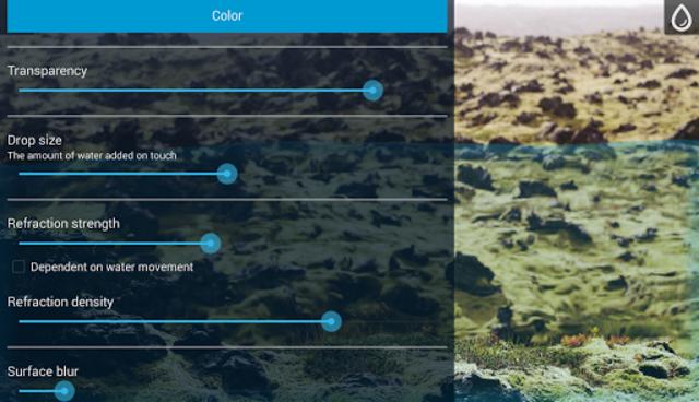Waterfloo Free - liquid simulation & wallpaper screenshot 11