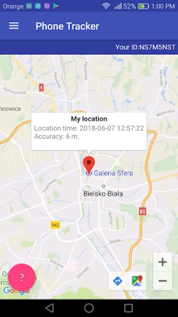 Phone Tracker Free screenshot 1