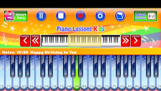 Best Piano Lessons Kids screenshot 1