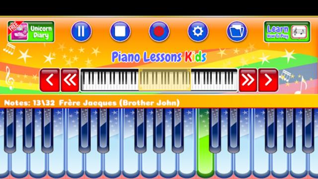 Best Piano Lessons Kids screenshot 3