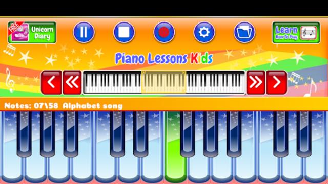 Best Piano Lessons Kids screenshot 5