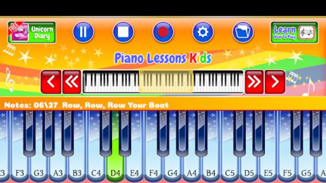 Best Piano Lessons Kids screenshot 9